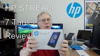 HP Stream 7 Signature Tablet Review