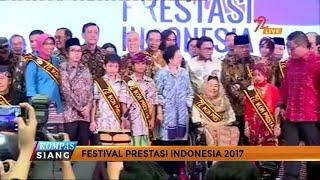 Unit Kerja Presiden Pembinaan Ideologi Pancasila (UKP – PIP) menggelar Festival Prestasi Indonesia, Senin (21/08) di JCC, Jakarta. 72 sosok berprestasi hadir di acara ini.Sejumlah tokoh dan dewan pengarah UKP – PIP ikut memberi penghargaan. Antara lain Presiden ke – 5 Megawati Soekarno Putri dan mantan Wakil Presiden Try Sutrisno.Panitia Festival Prestasi Indonesia membagi 72 orang peraih penghargaan ke empat kategori, yakni inovator, olahragawan, pegiat seni budaya, dan pegiat sosial.Salah satu ikon berprestasi adalah mahasiswa Universitas Muhammadiyah Malang (UMM). Pada April 2017 lalu, mahasiswa ini berhasil menjadi juara kontes robot internasional di Amerika Serikat.Atas prestasinya, Rektor UMM serta sejumlah mahasiswa diundang dalam Festival Prestasi. Prestasi mereka di bidang robot yang mengungguli Amerika Serikat, Tiongkok, Israel dan Portugal, dinilai jadi inspirasi Indonesia di bidang pendidikan dan teknologi.