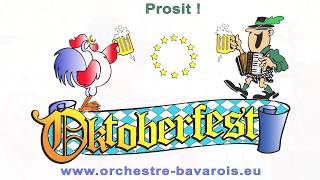 ORCHESTRE BAVAROIS - OKTOBERFEST - FÊTE DE LA BIÈRE