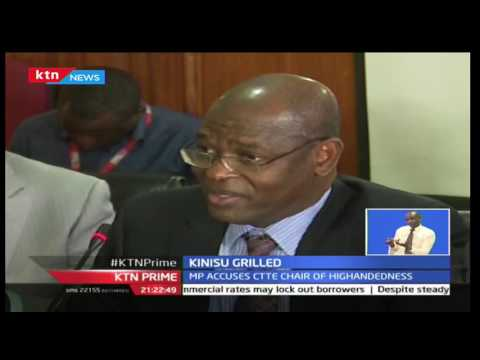 Kenyan Ethics and Anti-Corruption Commission Boss, Philip Kinisu Grilled