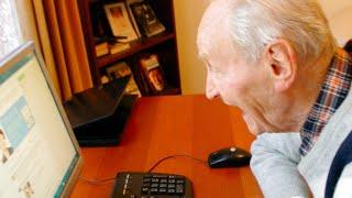Pierwsze kroki dziadka (92 lata) w internecie