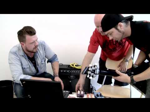 Michael 'Padge' Paget of Bullet For My Valentine Creates a TonePrint for Vortex Flanger