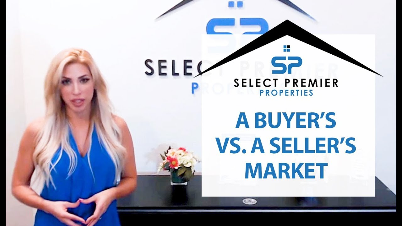 Buyer's vs. Seller's Market