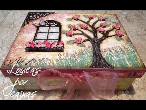 Caixa Janelinha e Árvore