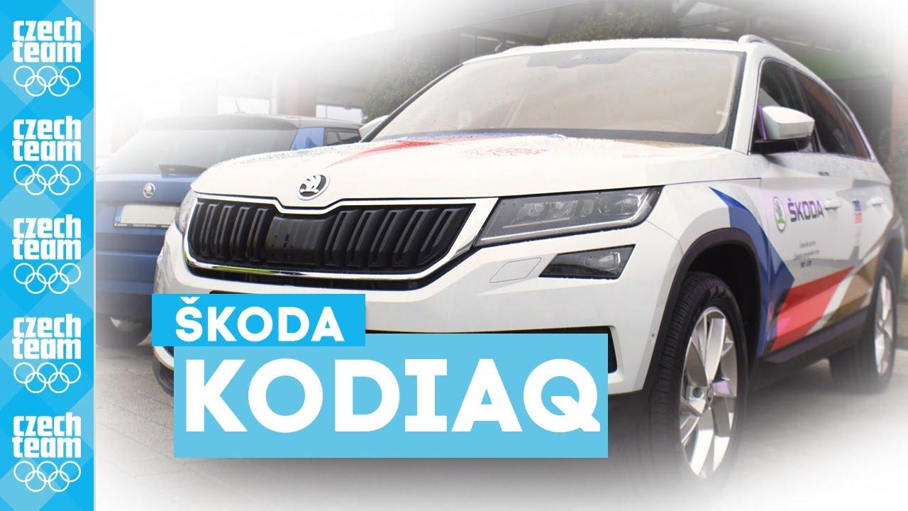 Nová ŠKODA KODIAQ jako první u českých olympioniků!
