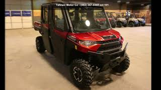 2. 2019 Polaris Ranger Crew XP 1000 EPS NorthStar HVAC Editi...