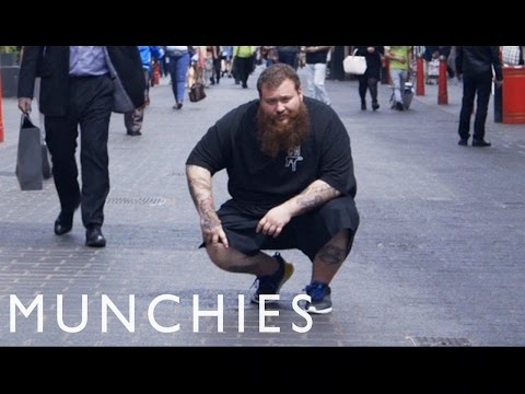 "Watch Action Bronson cook up ""white trash bruschetta"" in a new episode of his food show"