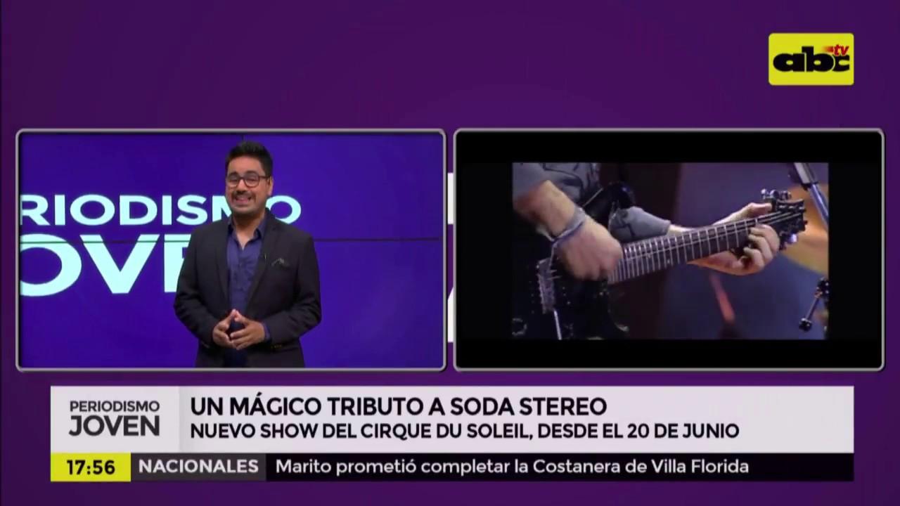 Un mágico tributo a Soda Stereo, el show del Cirque su Soleil