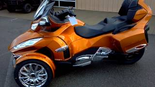 7. 2014 CAN-AM SPYDER RT-S LIMITED 1300CC 6 SPEED @ ALCOA GOOD TIMES