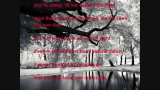 not on your love - jeff carson.wmv