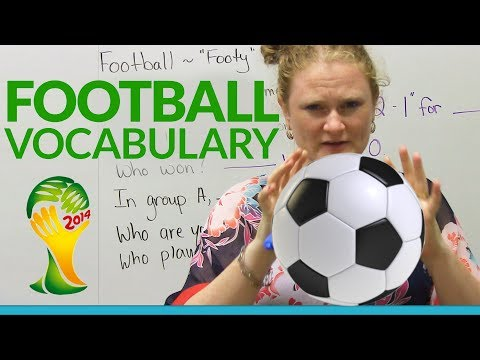 English - GOAL!!!!! In English, is the game called 'football' or 'soccer'? How do you tell someone who's winning and what the score is? Just in time for the FIFA World...