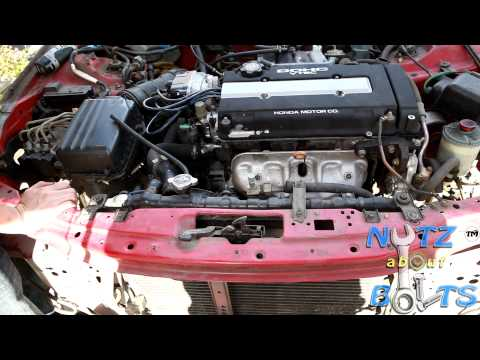 1994-2001 Acura Integra GSR radiator replacement
