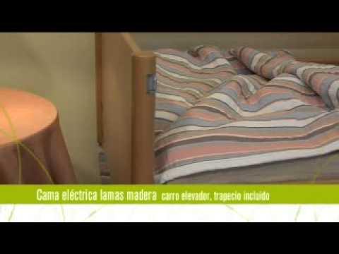 Cama Eléctrica Carro Elevable Manejo Sencillo
