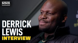 'Fattest Guy In Division' Derrick Lewis Surprised Ilir Latifi Wanted To Fight - MMA Fighting by MMA Fighting
