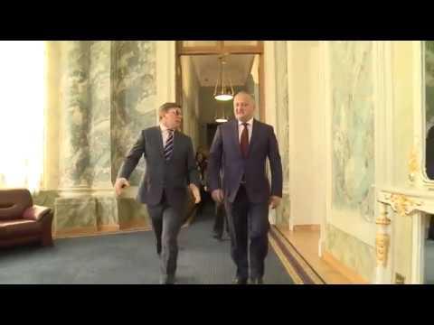 Igor Dodon s-a întîlnit cu secretarul general al Adunării Interparlamentare a CSI, Iuri Osipov