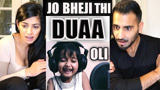 Video DUAA | Jo Bheji Thi Duaa | Shanghai | Full Song Cover by OLI | REACTION!! download in MP3, 3GP, MP4, WEBM, AVI, FLV January 2017