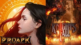 Knights Fall by CARBON EYED Inc (ANDROID/iOS/iphone/ipad)►►► SUBSCRIBE PROAPK FOR MORE GAMES : http://goo.gl/dlfmS0 ◄◄◄Welcome to the world of Knights Fall, a game never before experienced.The first game from Carbon Eyed, Knights Fall is a new take on the Action Puzzle genre that blends fantasy, action, pinball, and RPG elements—along with tons of explosions.Our company is determined to go back to a simple fun-yet-engaging gameplay. We want to reintroduce the idea that honing your skills and utilizing your experience and talent to overcome whatever obstacles the game throws at you are what makes a game truly fun to play.Follow the story mode to help save the Empire from the evil Orc invasion or challenge yourself in the high score mode by defending your Castle Gates.- FEATURES -• Easy Controls, Challenging GameplayWith just one finger, command hundreds of soldiers in battle.• Inventive StagesScenario mode has 120+ stages ranging from all-out battles with enemies to object destruction and securing a path for retreat.• Collect and Level up your HeroesCollect heroes and help them advance for future glory on the battlefield.• Various Game ModesUtilize your Heroes in various game modes such as Defense Mode and Score Challenge Mode.• Compete with your friends worldwide!Connect and see how you stack up against your friends all over the world.- PLEASE NOTE -Knights Fall is free to play, but there are certain items you can purchase.DOWNLOADApp Store: https://itunes.apple.com/us/app/knights-fall/id1059593649?mt=8Play Store: https://play.google.com/store/apps/details?id=com.carboneyed.knightsfall&hl=enTotal Size : 900 Mb✔ LOOKING FOR MORE RPG GAMES?  ►►► https://goo.gl/wqCfuv ◄◄◄►►► MMORPG Playlist : https://goo.gl/nky4Vl ◄◄◄----------------------------------------------------SUBSCRIBE PROAPK TO DISCOVER MORE NEW ANDROID/iOS GAMES : http://goo.gl/dlfmS0TWITTER: http://twitter.com/Apkno1FACEBOOK: https://www.facebook.com/proapk4uG+ : https://plus.google.com/+proapkIF YOU LIKE O