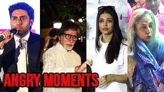 Video 10 Times Bachchan's Got ANGRY On Media | Aishwarya Rai, Jaya Bachchan, Amitabh, Abhishek MP3, 3GP, MP4, WEBM, AVI, FLV Januari 2019