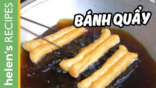 FRIED BREADSTICK Recipe - Banh Quay / Youtiao / Patongko Video