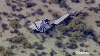 Virgin Galactic's SpaceShipTwo Crashes In Mojave Desert