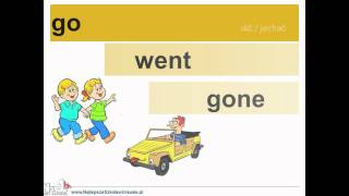 Learn English Online - Irregular Verb Forms - Video Support - Www.NajlepszaSzkolawUrsusie.pl