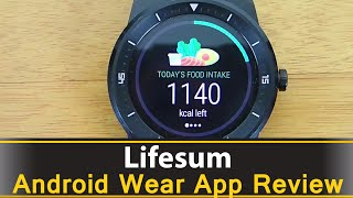Lifesum is a complete nutrition and fitness tracker for android and android wear. You can count your calories, water intake, and fitness all from one app on your android wear smart watch. Download: https://play.google.com/store/apps/details?id=com.sillens.shapeupclub