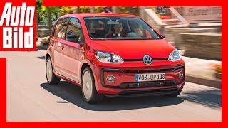 VW Up Facelift (2016) : UP-date für den kleinen VW by Auto Bild