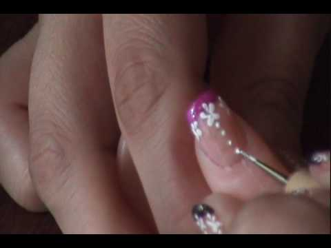 manicure flores - Thanks for watching, don't forget to rate, comment and subscribe =) Gracias por ver, no olviden calificar, comentar y suscribirse =)