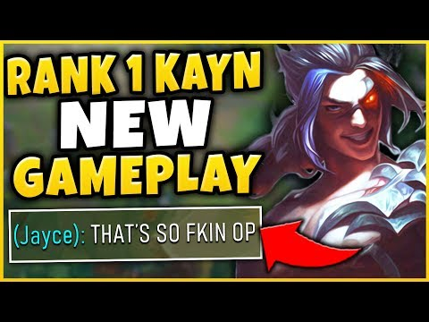 #1 KAYN WORLD NEW PLAYSTYLE / JUNGLE PATH FT. NEW JUNGLE CHANGES - League Of Legends