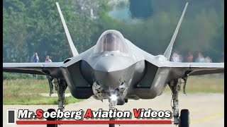 Video FULL POWER AFTERBURNER Departure F35 at Volkel MP3, 3GP, MP4, WEBM, AVI, FLV Juli 2019