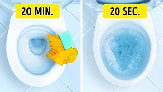 Video 20 WAYS TO CLEAN YOUR HOUSE IN JUST A FEW MINUTES MP3, 3GP, MP4, WEBM, AVI, FLV Agustus 2018