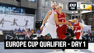 See all the action from the FIBA 3x3 Europe Cup Qualifier in Escaldes-Engordany, Andorra! Schedule (GMT+2) Women 10:00 - Germany vs Turkey 10:20 ...