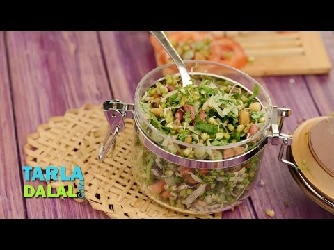 Mixed Sprouts Salad (Diabetic Recipe) by Tarla Dalal