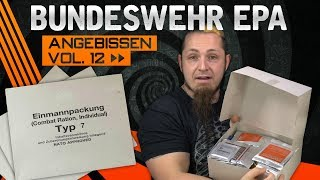 BundeswehrKampfrationMRE/EPA🍗ANGEBISSENVOL.12[German,Deutsch]