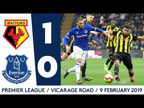 Video: WOODWORK TWICE DENIES BLUES | HIGHLIGHTS: WATFORD 1-0 EVERTON