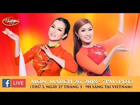 Livestream với Hương Thủy & Nguyễn Hồng Nhung - March 26, 2018 - Thời lượng: 1:28:08.