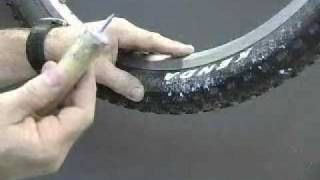 Self healing tire