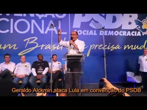 Governador Geraldo Alckmin assumiu o comando do diretório nacional do PSDB em convenção realizada em Brasília