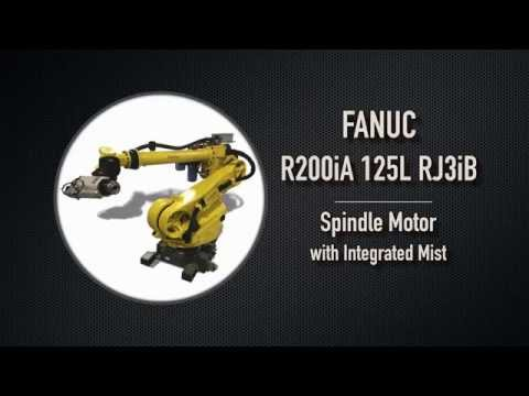 Fanuc R-2000iA/125L RJ3iB Spindle Motor with Integrated Mist