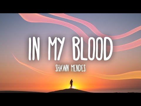 Video Shawn Mendes - In My Blood (Lyrics) download in MP3, 3GP, MP4, WEBM, AVI, FLV January 2017