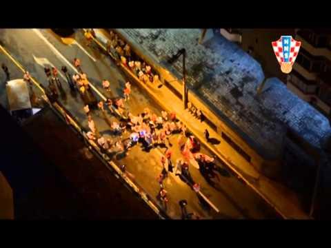 Hrvatski navijači ispred hotela u Recifeu