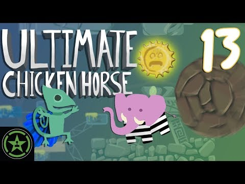 Indiana Groans - Ultimate Chicken Horse (#13) | Let's Play
