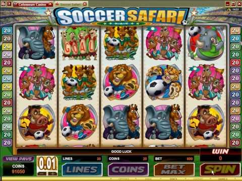 Soccer Safari -  Promo - Colosseum Casino.avi