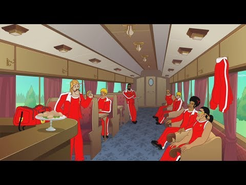 Supa Strikas - Season 3 Episode 38 - Shakes on a Train | Kids Cartoon