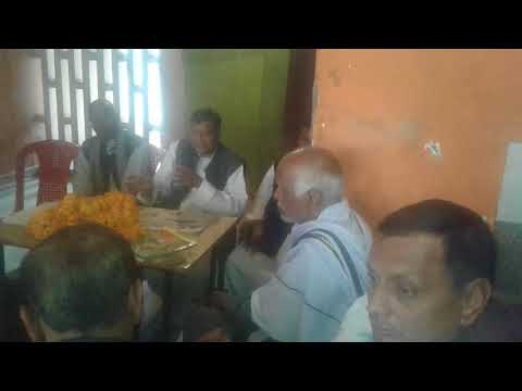 Dr.Masood Ahmed in Azamgarh RLD Office