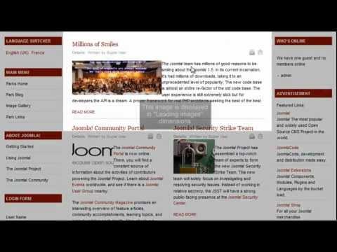 Joomla 1.7 - JA Thumbnail Plugin