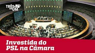 Centrão reage a investida do PSL na Câmara