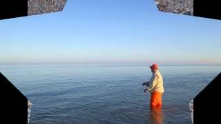 Ловля бычка нахлыстом на Азовском море