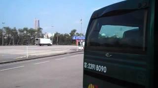 Huanggang China  city photos gallery : Lok Ma Chau Huang Gang Hong Kong to China Border at Shenzhen November 2012