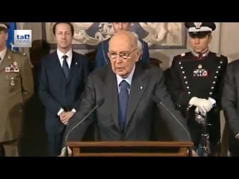 NAPOLITANO CAMBIA IDEA SULL' ITALICUM